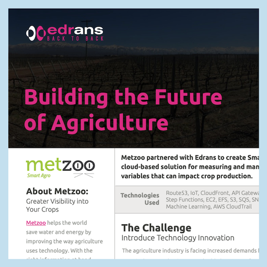 "Edrans ""Buidling the Future of Agriculture"" Metzoo. (additional partical cropped text)"